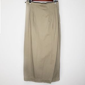 Harold's faux wrap maxi skirt size 8